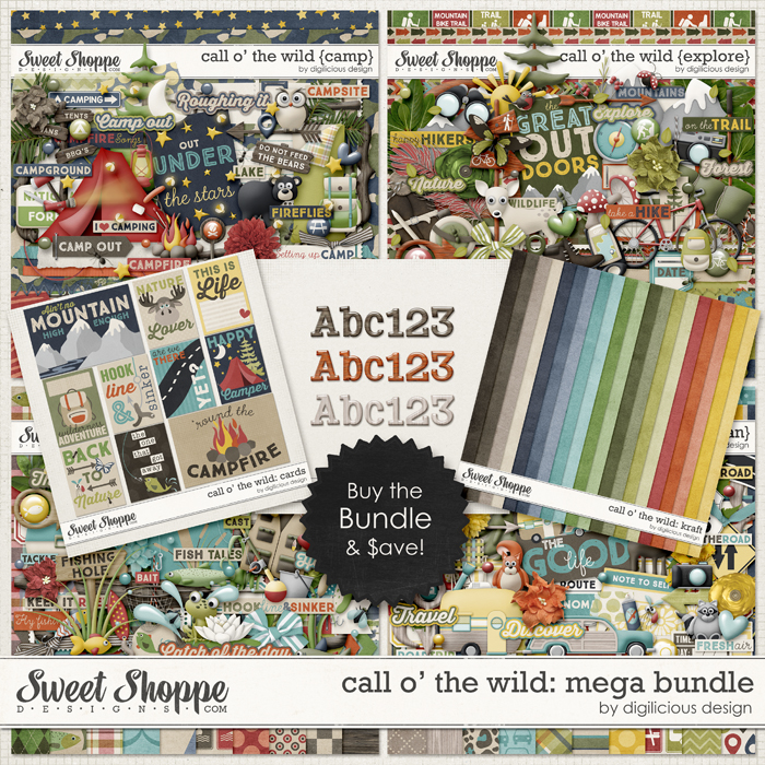 Call O' The Wild Mega Bundle by Digilicious Design