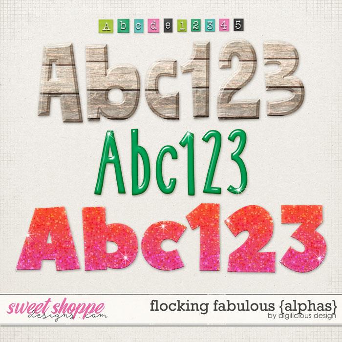 Flocking Fabulous {Alphas} by Digilicious Design