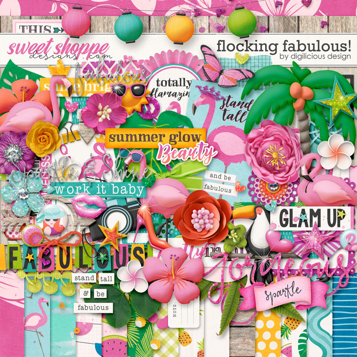 Flocking Fabulous {Kit} by Digilicious Design