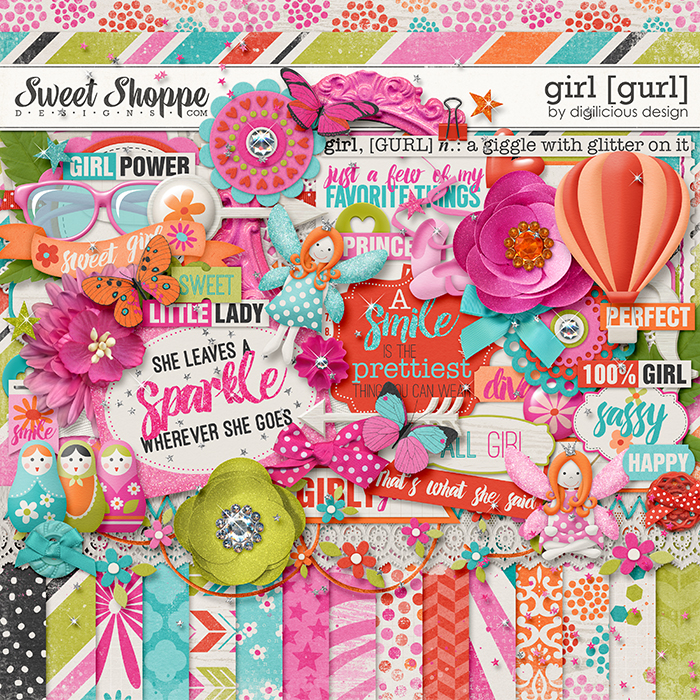 Girl Kit by Digilicious Design