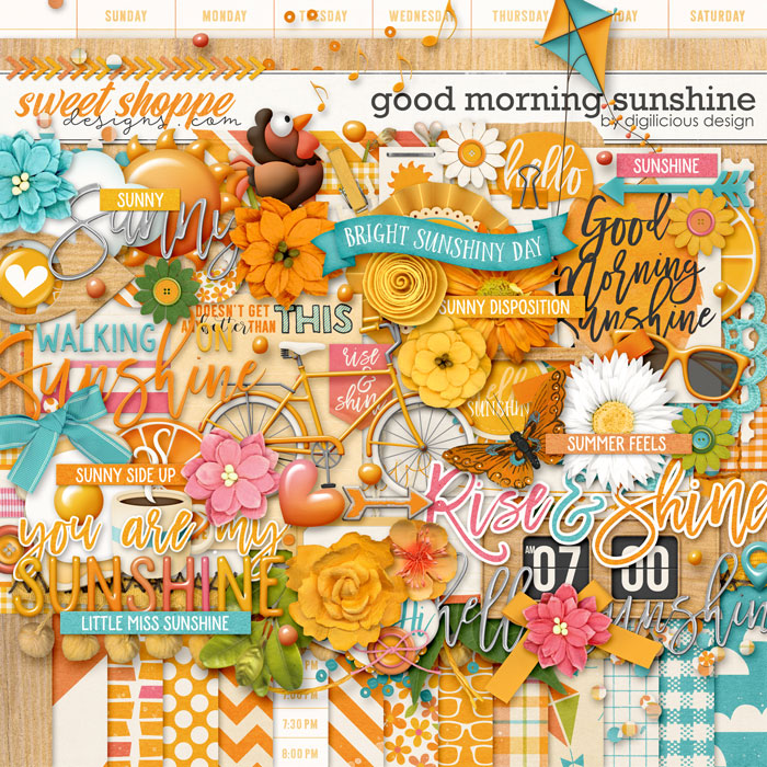 Good Morning Sunshine {Kit} by Digilicious Design