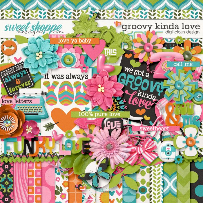 Groovy Kinda Love by Digilicious Design