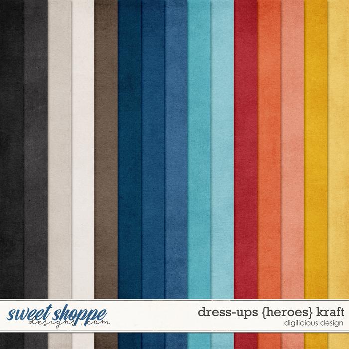 Dress-ups {Heroes} Kraft by Digilicious Design