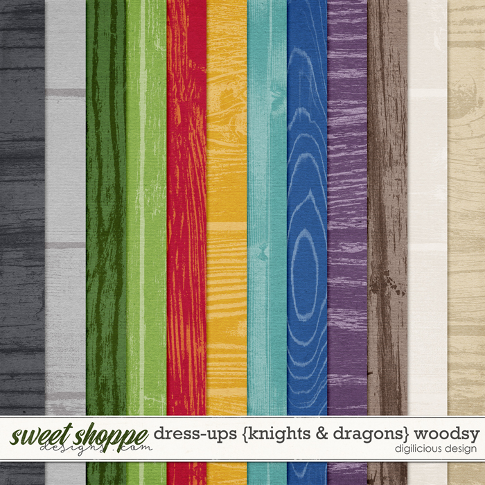 Dress-ups {Knights & Dragons} Woodsy by Digilicious Design