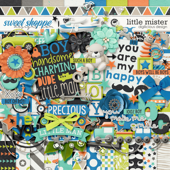 Little Mister by Digilicious Design