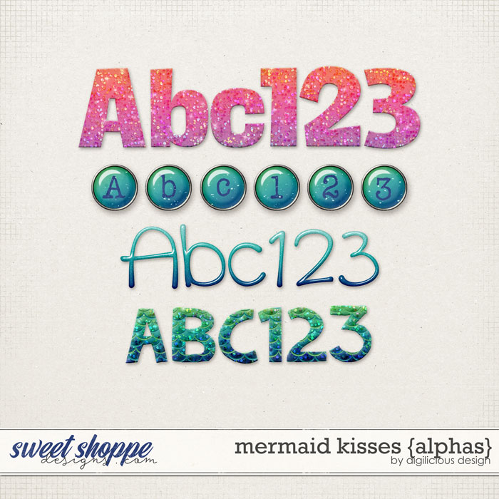 Mermaid Kisses {Alphas} by Digilicious Design