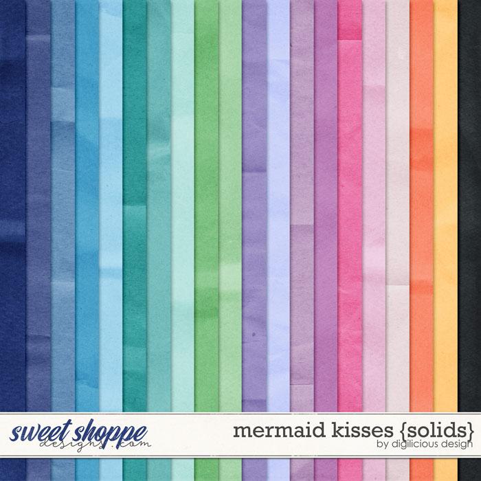 Mermaid Kisses {Solids} by Digilicious Design