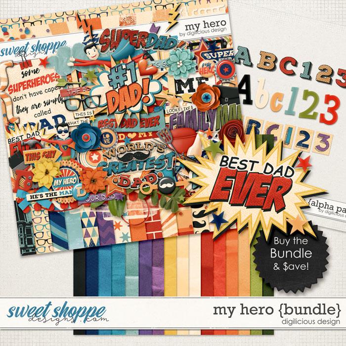 My Hero {Bundle} by Digilicious Design