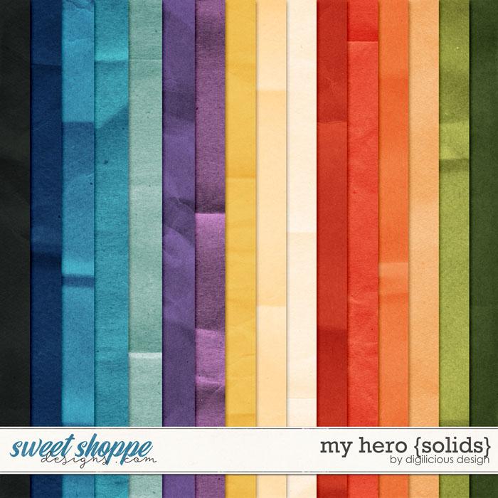 My Hero {Solids} by Digilicious Design