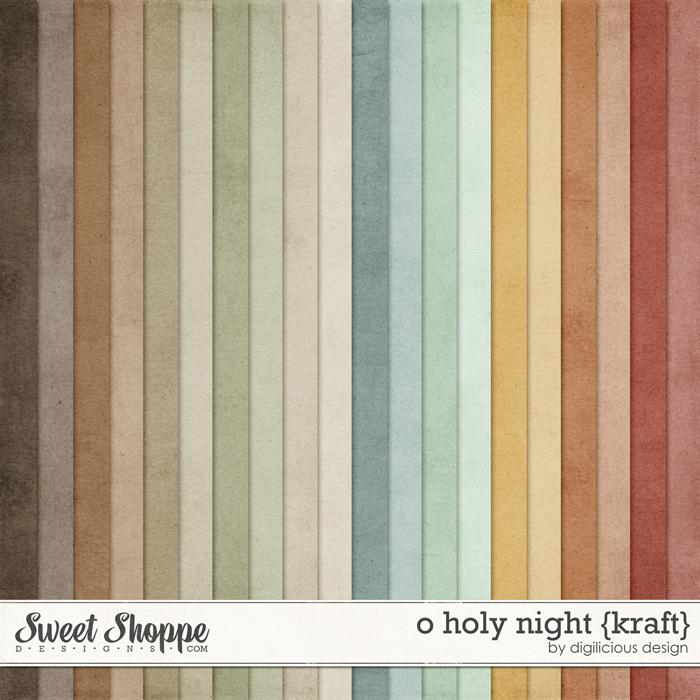O Holy Night {Kraft} by Digilicious Design