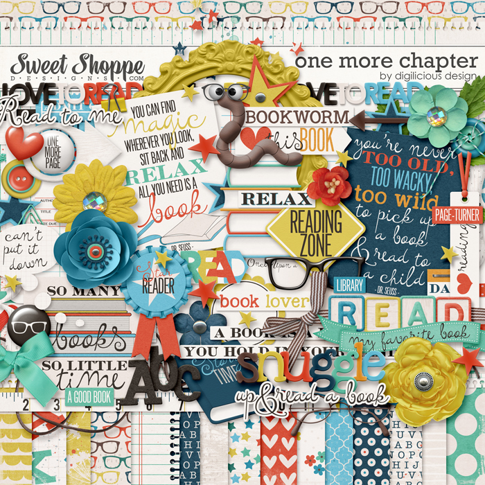 One More Chapter {Kit} by Digilicious Design