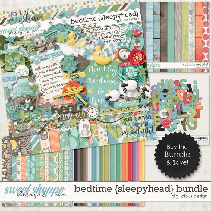 Bedtime {Sleepyhead} Bundle by Digilicious Design