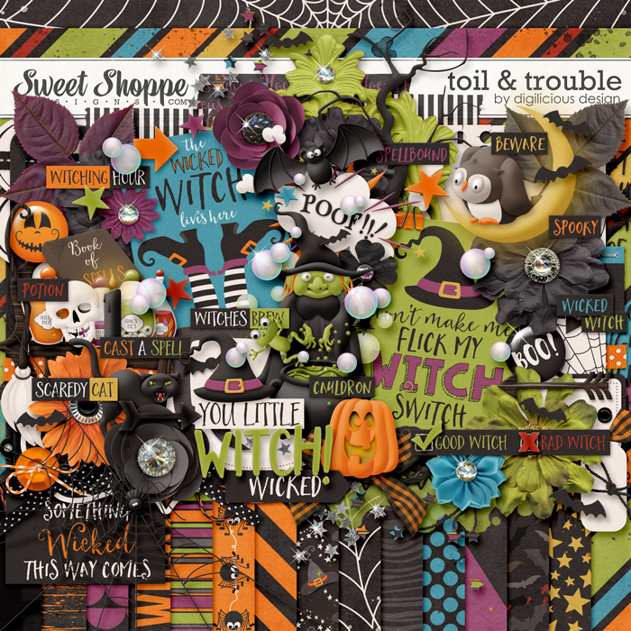Toil & Trouble {Kit} by Digilicious Design