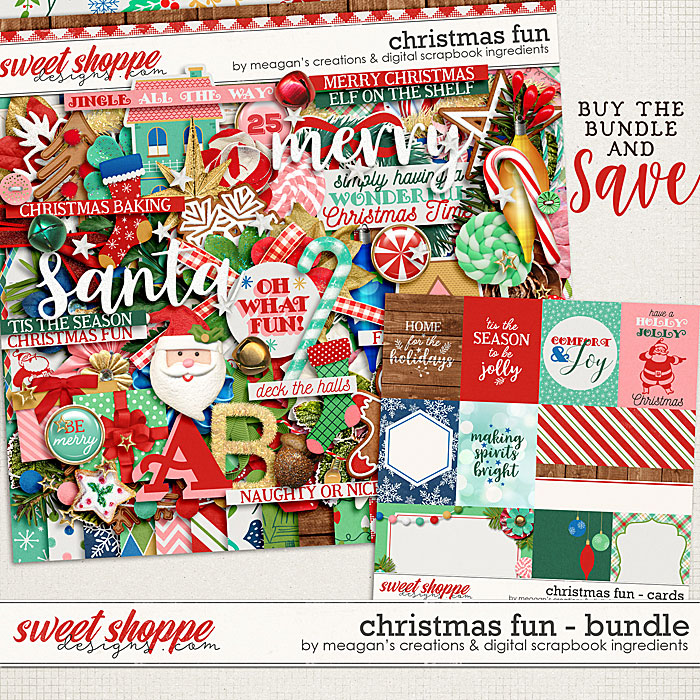 Christmas Fun Bundle by Meagan's Creations and Digital Scrapbook Ingredients