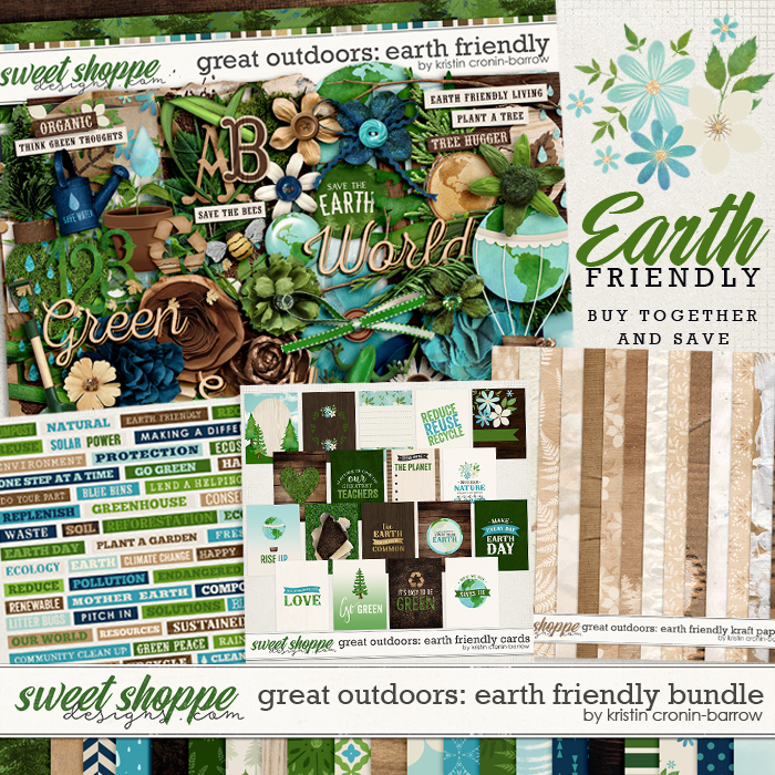 Great Outdoors: Earth Friendly Bundle by Kristin Cronin-Barrow