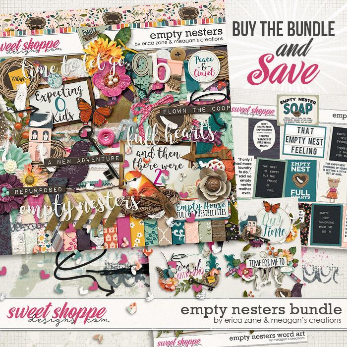 Empty Nesters: Bundle by Erica Zane & Meagan's Creations