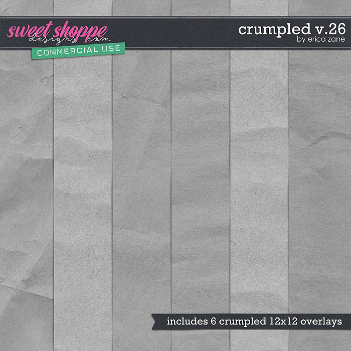 Crumpled v.26 by Erica Zane