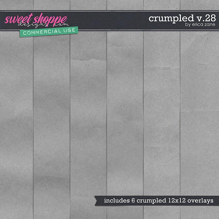 Crumpled v.28 by Erica Zane