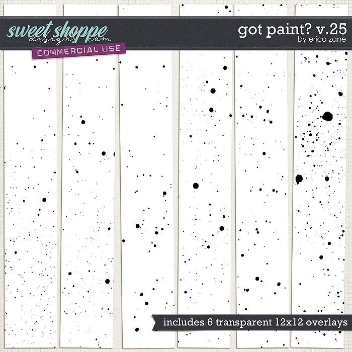 Got Paint? v.25 by Erica Zane