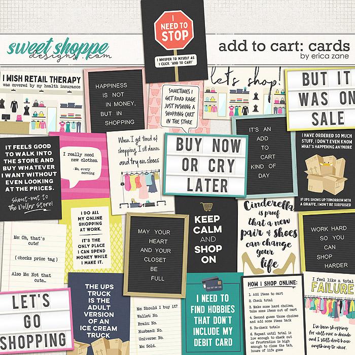 Add to Cart: Cards by Erica Zane