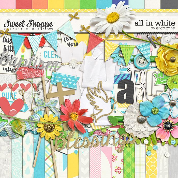 All in White by Erica Zane