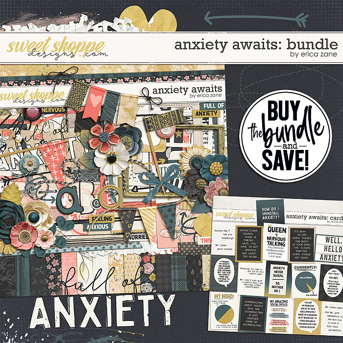 Anxiety Awaits: Bundle by Erica Zane