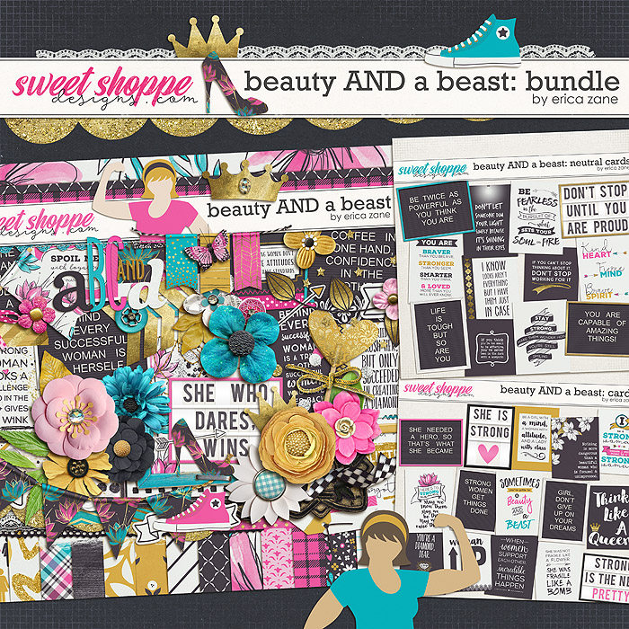 Beauty AND a Beast: Bundle by Erica Zane