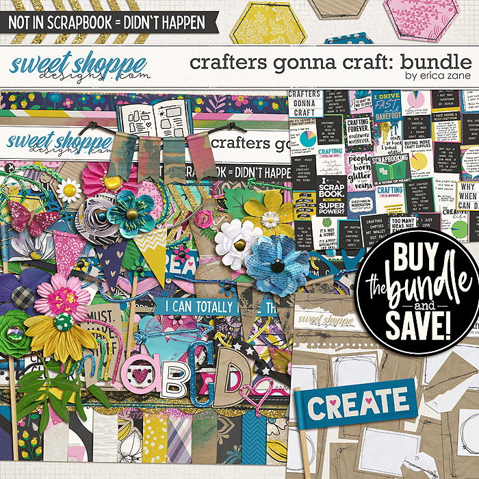 Crafters Gonna Craft: Bundle by Erica Zane