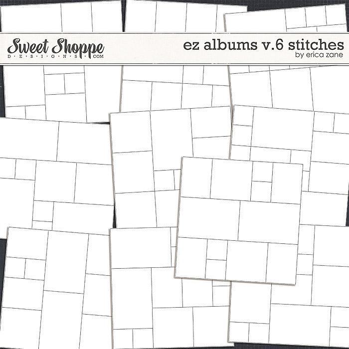 EZ Albums v.6 Stitches by Erica Zane