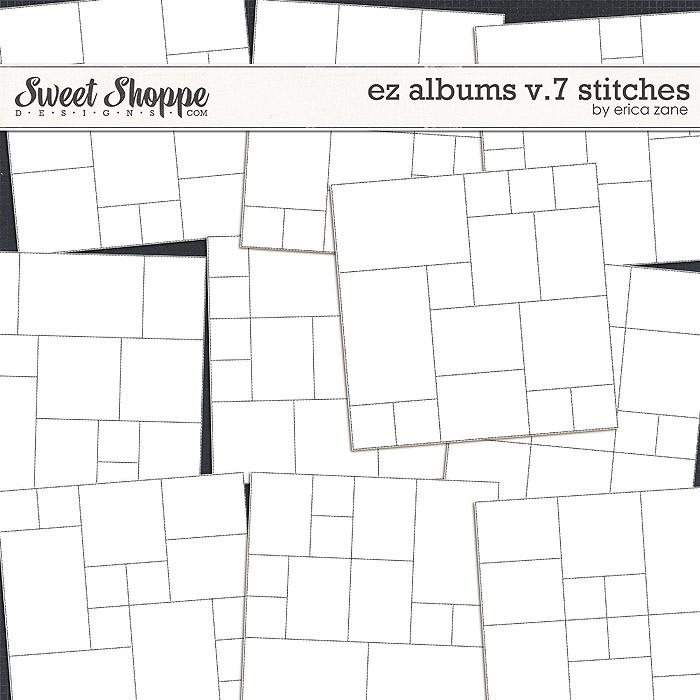 EZ Albums v.7 Stitches by Erica Zane
