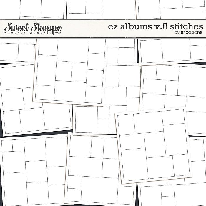 EZ Albums v.8 Stitches by Erica Zane