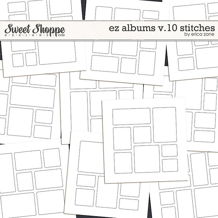 EZ Albums v.10 Stitches by Erica Zane