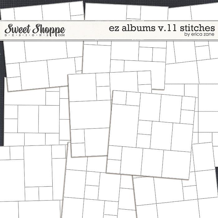 EZ Albums v.11 Stitches by Erica Zane