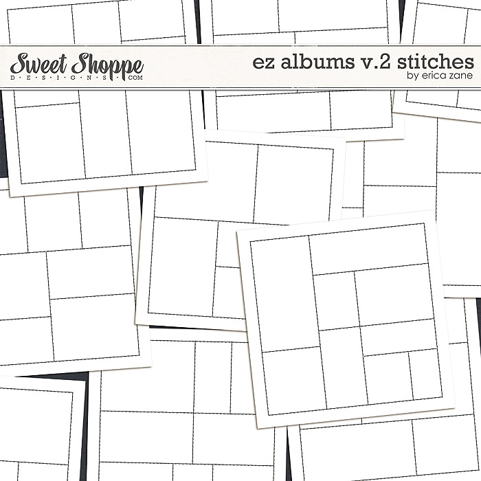 EZ Albums v.2 Stitches by Erica Zane
