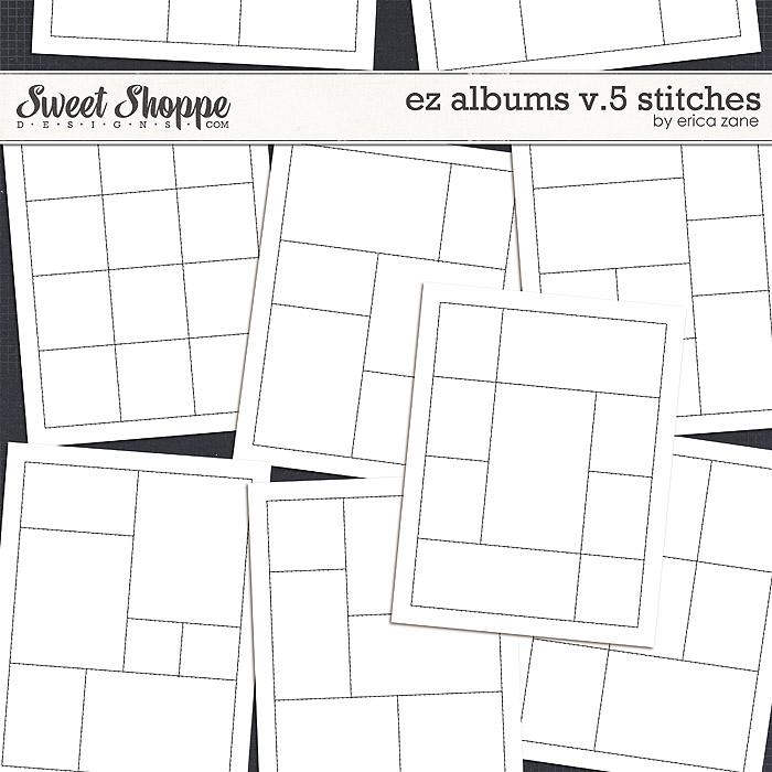 EZ Albums v.5 Stitches by Erica Zane