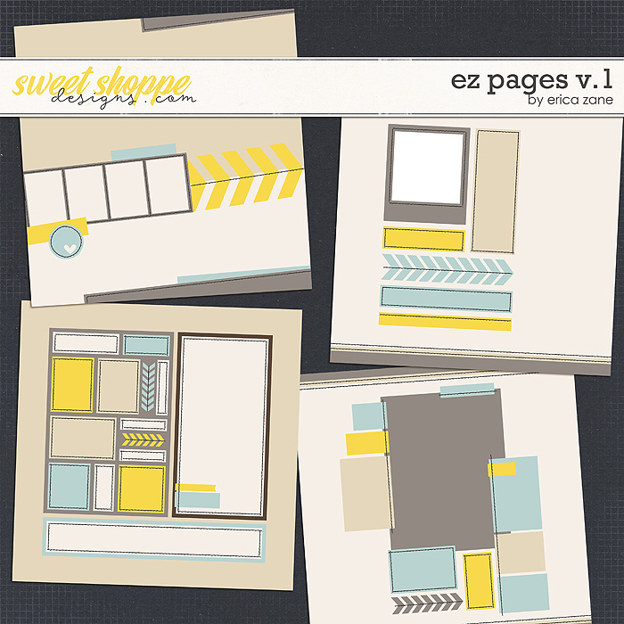 EZ Pages v.1 Templates by Erica Zane