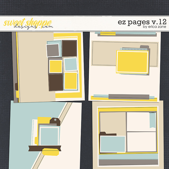 EZ Pages v.12 Templates by Erica Zane