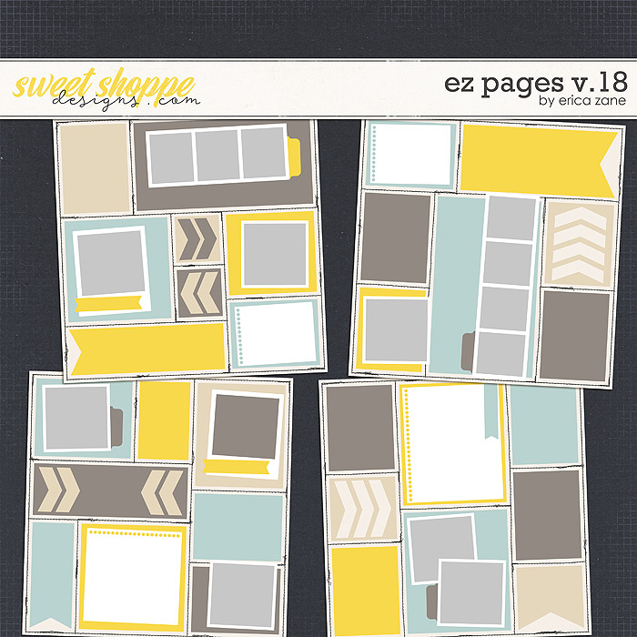 EZ Pages v.18 Templates by Erica Zane
