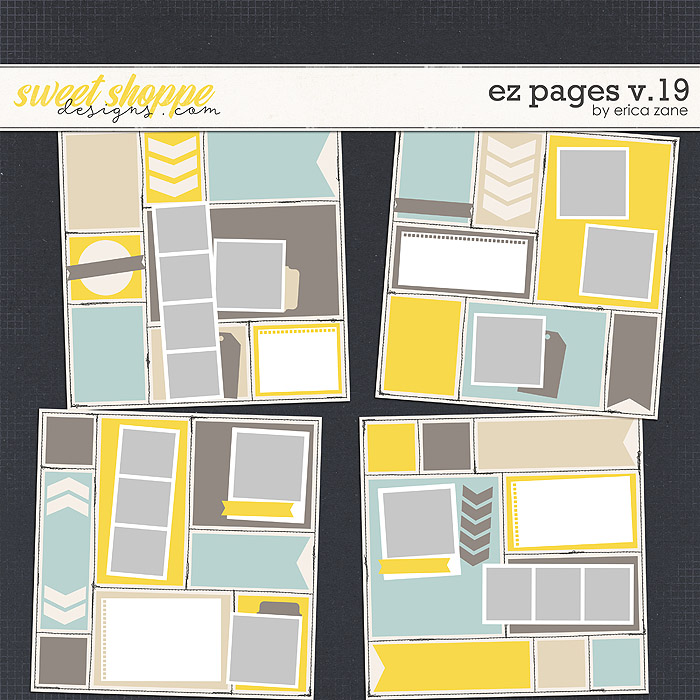 EZ Pages v.19 Templates by Erica Zane