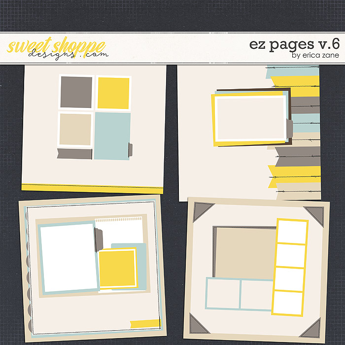 EZ Pages v.6 Templates by Erica Zane