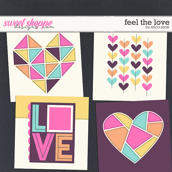 Feel the Love Templates by Erica Zane