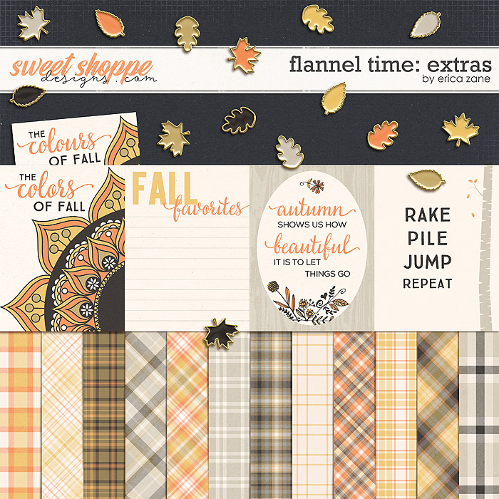 Flannel Time: Extras by Erica Zane