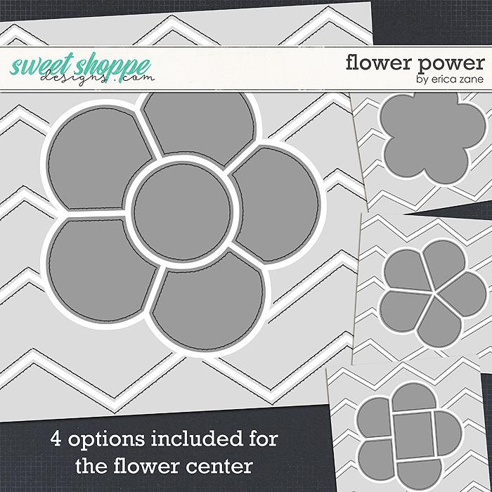 Flower Power Template by Erica Zane