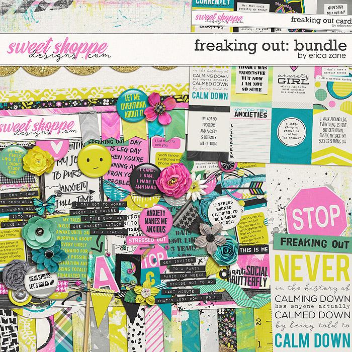 Freaking Out: Bundle by Erica Zane