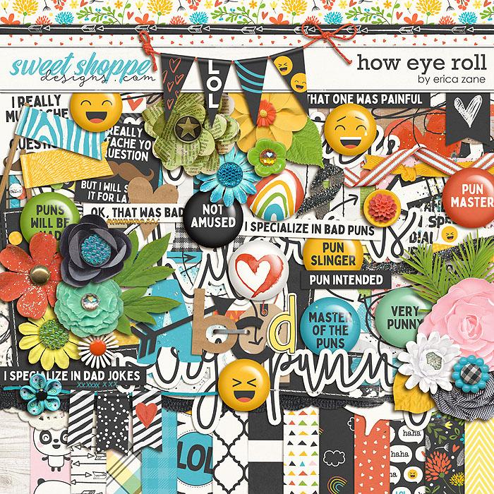 How Eye Roll by Erica Zane