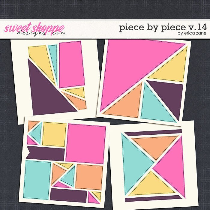 Piece by Piece v.14 Templates by Erica Zane