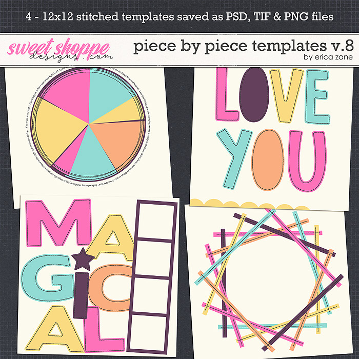 Piece by Piece v.8 Templates by Erica Zane