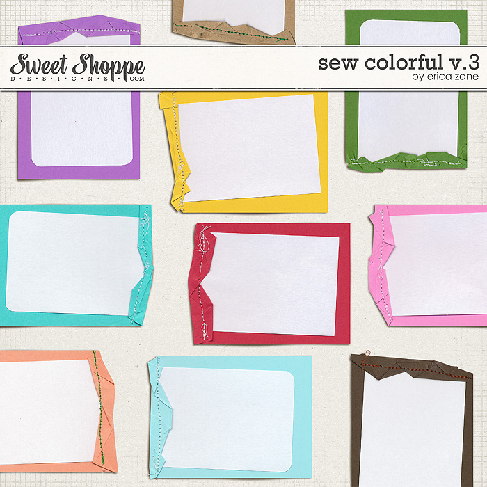 Sew Colorful v.3 by Erica Zane