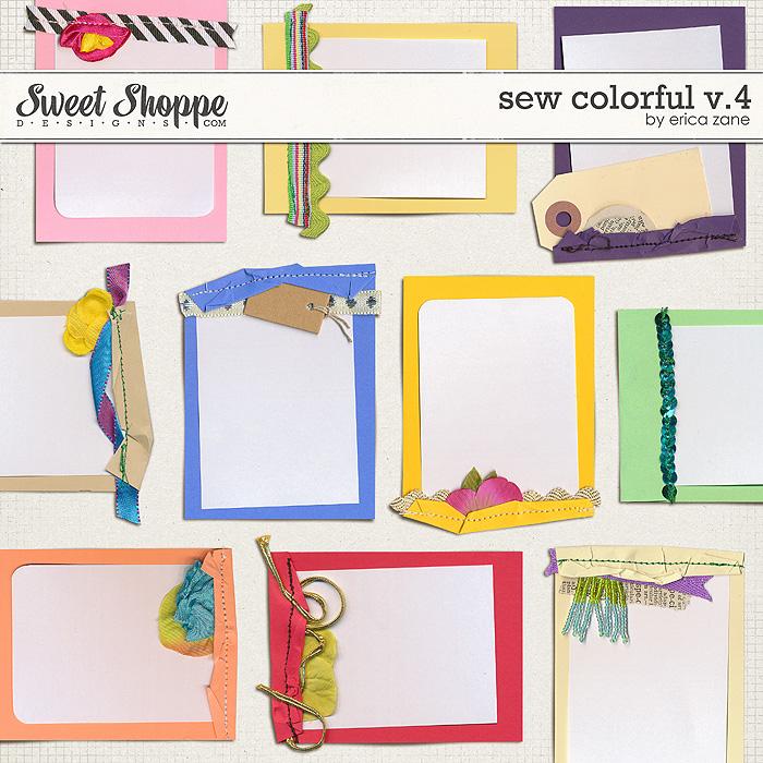 Sew Colorful v.4 by Erica Zane