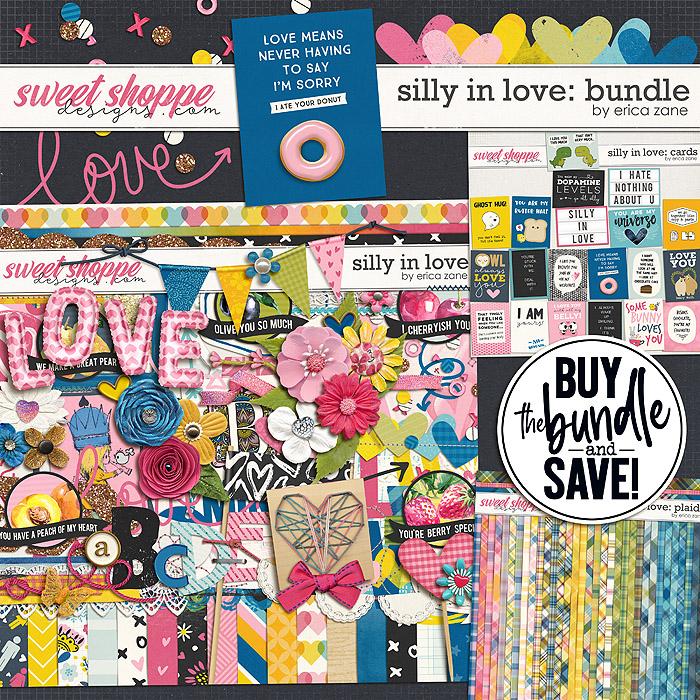 Silly in Love: Bundle by Erica Zane